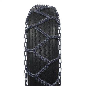 Truck chain steering